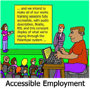 Removing Barriers: Accessible Employment